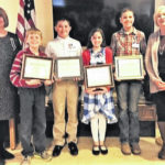 Local DAR chapter awards students