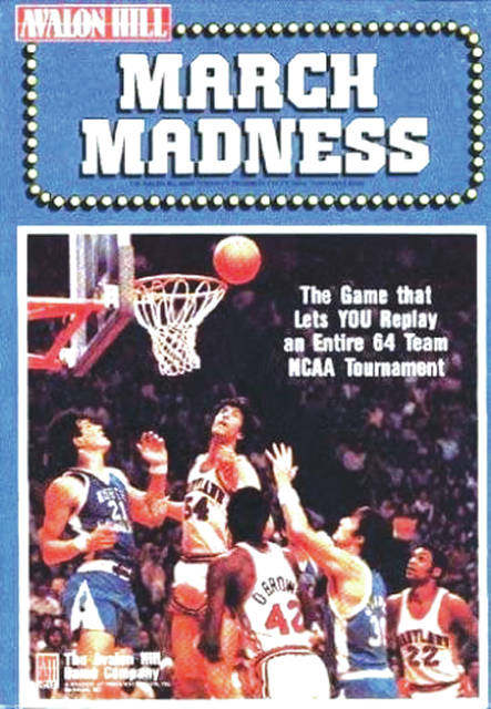 Recreate any NCAA tournament with Avalon Hill's March Madness game.