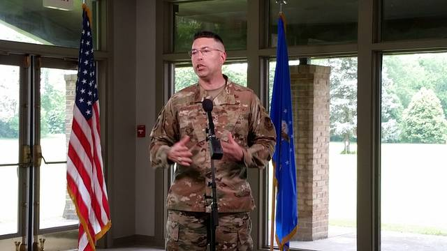 London Bishop   Greene County News Col. Thomas Sherman reflects on his time as commander of the 88th Air Base Wing of Wright-Patterson Air Force Base.