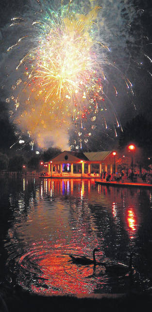 File photo The fireworks show in Xenia will happen this year as scheduled.