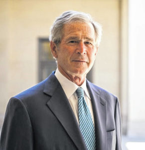 George W. Bush: We rise or fall together — and we are determined to rise