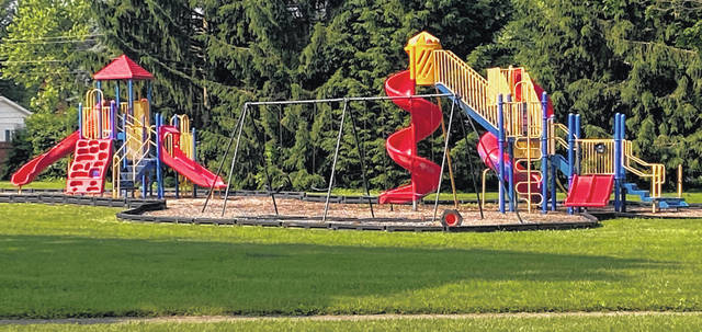 Scott Halasz | Greene County News City playgrounds will open June 10. Xenia schools did not confirm by press time if elementary school playgrounds will also open.