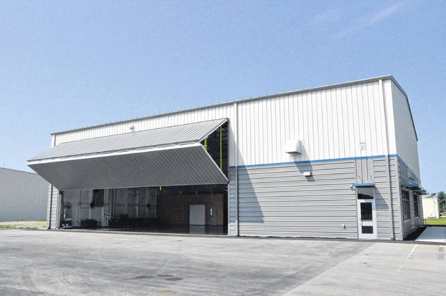 The 7,500 square-foot facility houses an open bay for aircraft and engine maintenance training, space for sheet metal fabrication, as well as classroom, office and meeting areas.