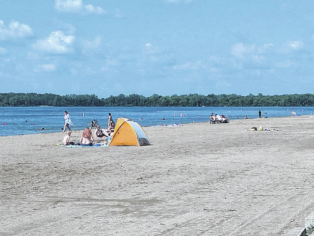 Buck Creek State Park in Clark County is a great option for planting your tent or beach umbrella and putting your toes in the sand.