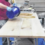 Legend of the lumber: Handcrafted dining tables tell a atory