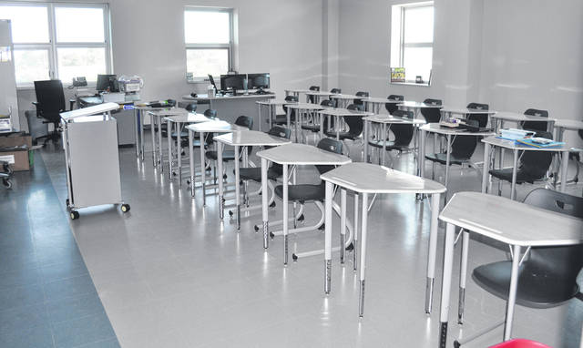 Scott Halasz | Greene County News A look inside one of the classrooms.
