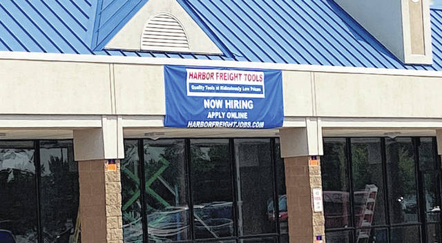 Scott Halasz | Greene County News Harbor Freight is opening its first Greene County store in Xenia in November.