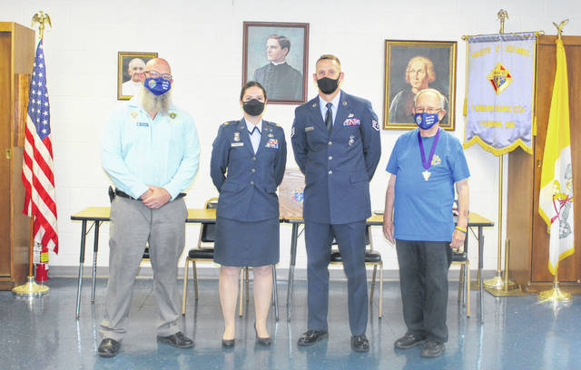 Staff Sgt. Philip Mason was recognized as the WPAFB Security Forces Officer of the Year.