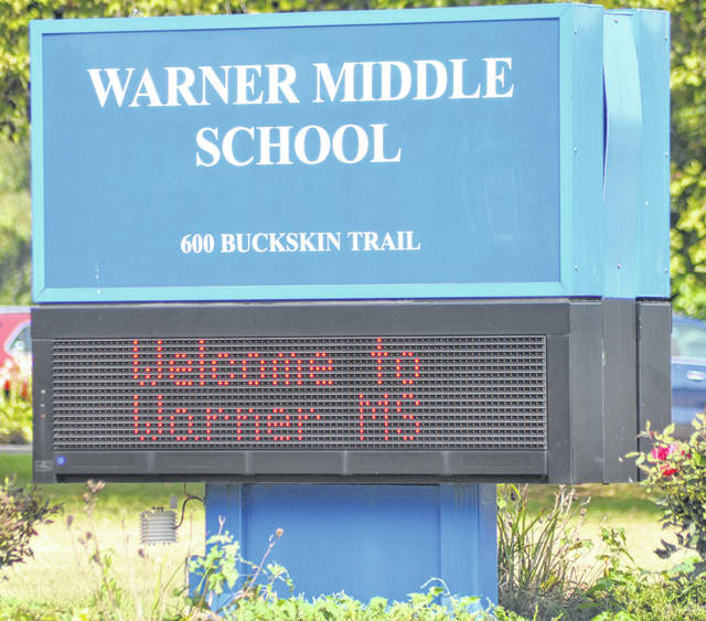 Photos by Scott Halasz | Greene County News A committee focused on promoting a bond issue to replace Warner Middle School will begin its campaign this week. There are myriad issues with the school, including non-compliance with ADA regulations, single-pane windows that need to be replaced, and major HVAC malfunctions.