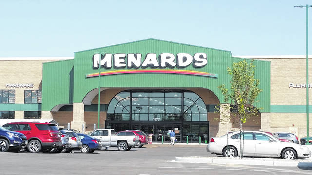 London Bishop | Greene County News Menards opened to the public Sept. 21.