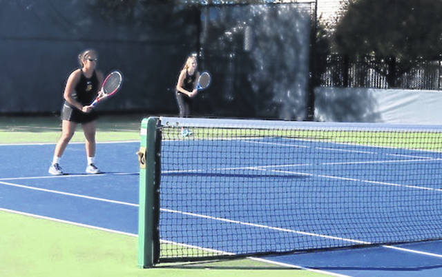 Submitted photos Bellbrook tennis players Nitika Arora (left) and Maya Brink will be in this weekend's Division I state tournament.
