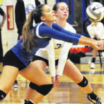 Serving sparks Xenia to tourney win