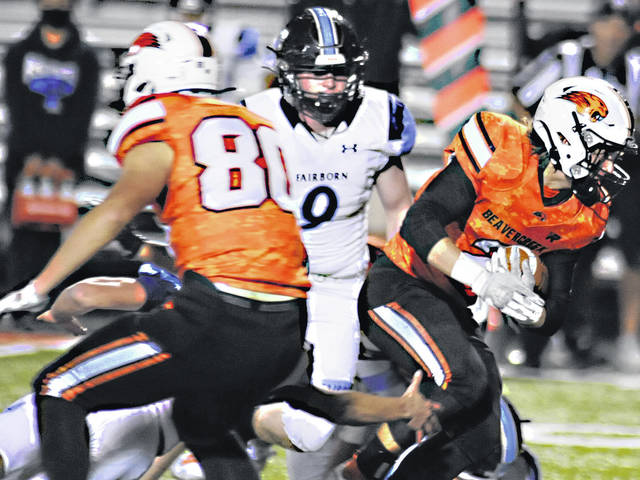 Charles Caperton | Greene County News Fairborn's Hunter Warner was Division-II Southwest District defensive player of the year for the second straight season.
