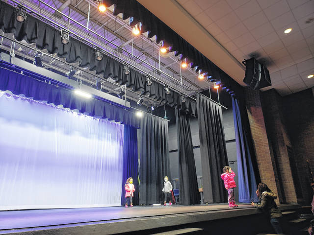 Xenia High School welcomed visitors back into the Bob Hope auditorium after extensive renovations.
