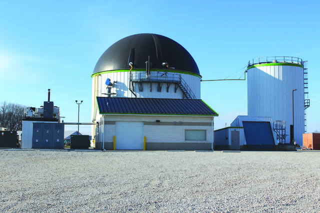 Dovetail's biodigester facility located on Herr Road in Bath Township.