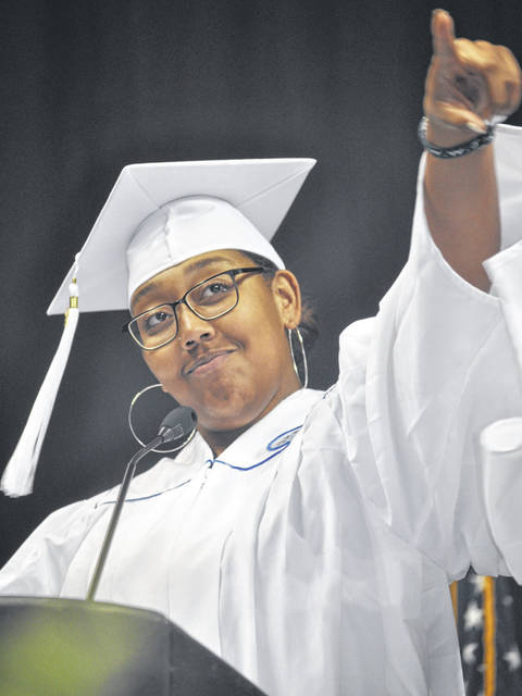 File photos Area schools are planning to have in-person graduations and proms this spring.