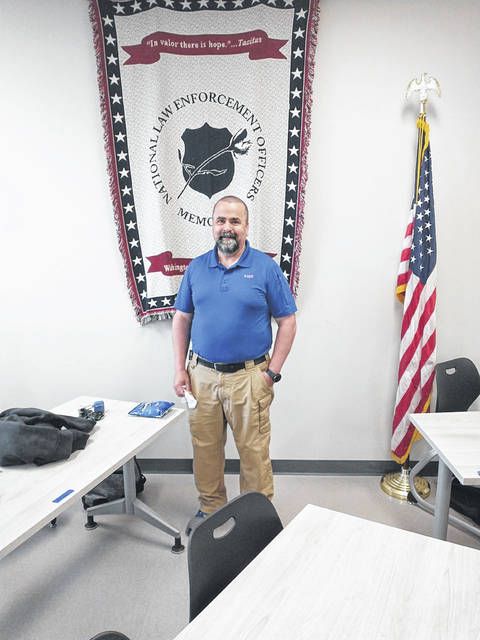 Greene County Career Center criminal justice instructor John Demmitt