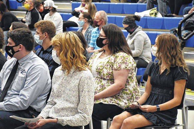 Greene County Career Center held its annual induction ceremonies for students entering the school's chapter of the National Technical Honor Society.