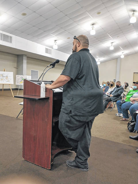 Xenia resident and Greene County Career Center Alumni David Bruce is in favor of the project.