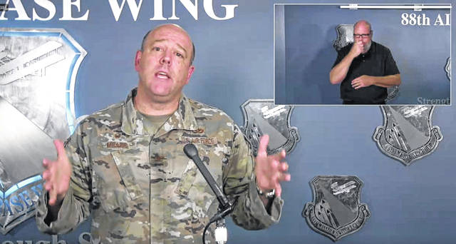 Col. Patrick Miller gives a COVID-19 situation update the evening of June 2.