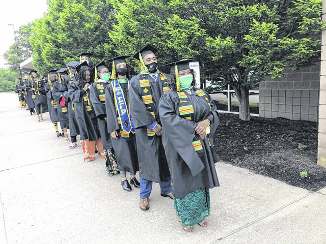 Submitted photos Wilberforce University held its graduation last Saturday and announced that all fines owed to the university by members of the classes of 2020 and 2021 were cancelled.