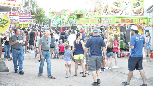 Scott Halasz | Greene County News Attendance was up almost 20 percent at the Greene County Fair this year.