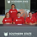 SSCC Men Basketball signs three