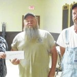 Greenfield Eagles donate $4,000 to local charity