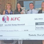 KFC, Homer raise $1,156 for Kamp Dovetail