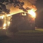 Fire destroys barn on SR 73