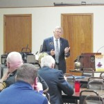Greenfield Rotary hosts district governor