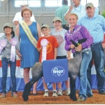 Young shows runner-up at state fair