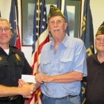 VFW gives $1,000 to HPD