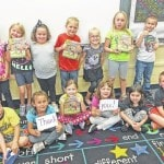 GES students receive books