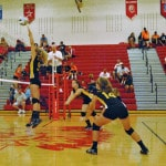 LC volleyball sweeps EC