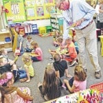 Altrusa donates books to kindergarteners