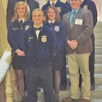 Fairfield FFA attends Ohio Legislative Leadership Conference