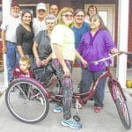 'Good people' buy new bicycle for special needs youngster