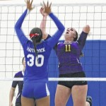 McClain volleyball drops 3-0 to WCH