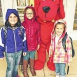Clifford the Big Red Dog visits Greenfield Elementary
