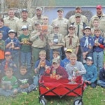 Scouts collect 1,393 food items