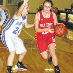 HHS girls fall behind early