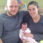 McKinzies have first baby of year