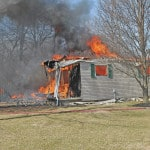 Fire destroys Graves Lane home