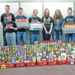 FHS council collects 1,113 items for community center