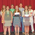 4-H Endowment Scholarship recipients