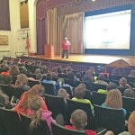 Author visits Greenfield Schools