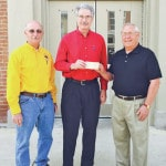 Greenfield Lions help purchase trees