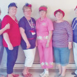 Red Hatters entertain Laurels residents