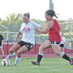 Lady Indians host Circleville in scrimmage